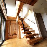 玄関を入ってすぐの階段