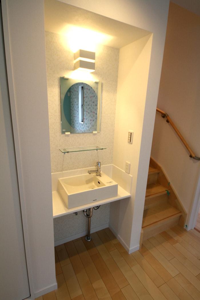 2階にもちょっとした洗面